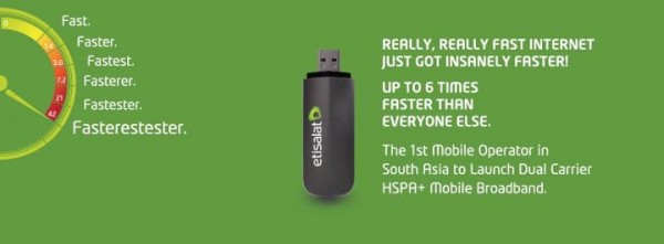 This, by the way, is taken from Etisalat's Facebook page.