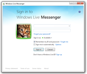 Windows Live Messenger began life as MSN Messenger in 1999 and had more than 100 million users in 2010.